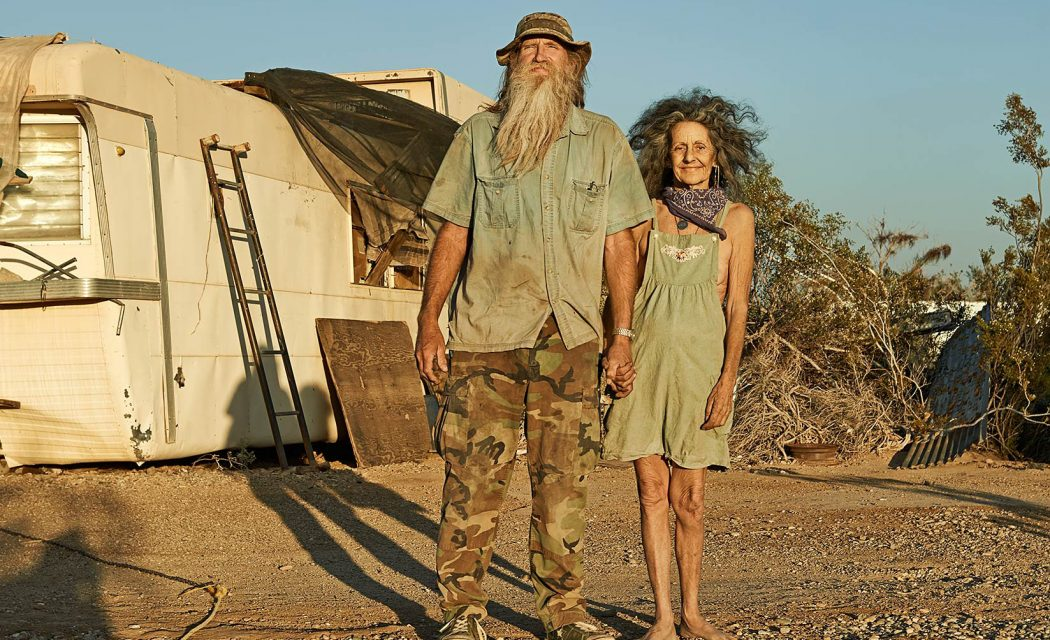Dave & Lizzie - Slab City, California