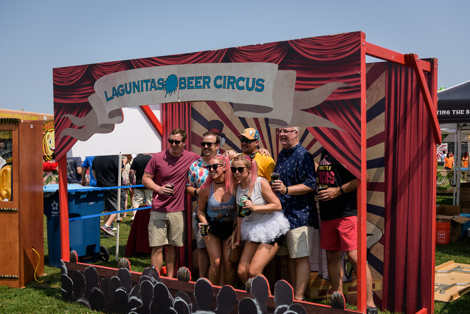 A Freaky Afternoon at the Lagunitas Beer Circus – Ross Feighery