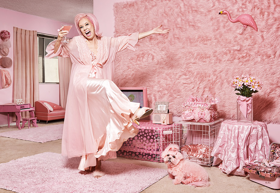 The Pink Lady of Hollywood – Ross Feighery Photography